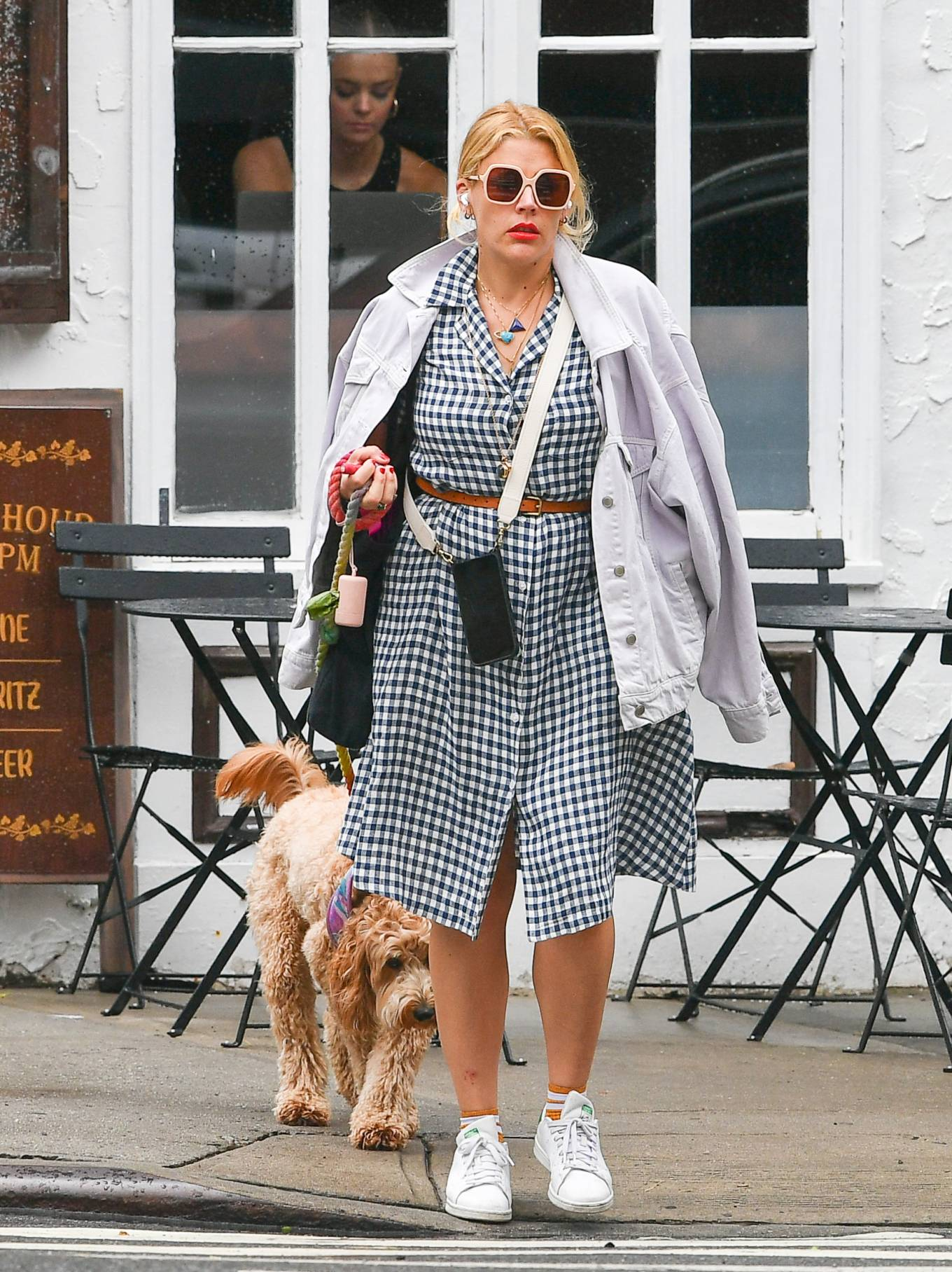 Busy Philipps 2021 : Busy Philipps – Steps out in New York-05