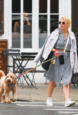 Busy Philipps - Steps out in New York