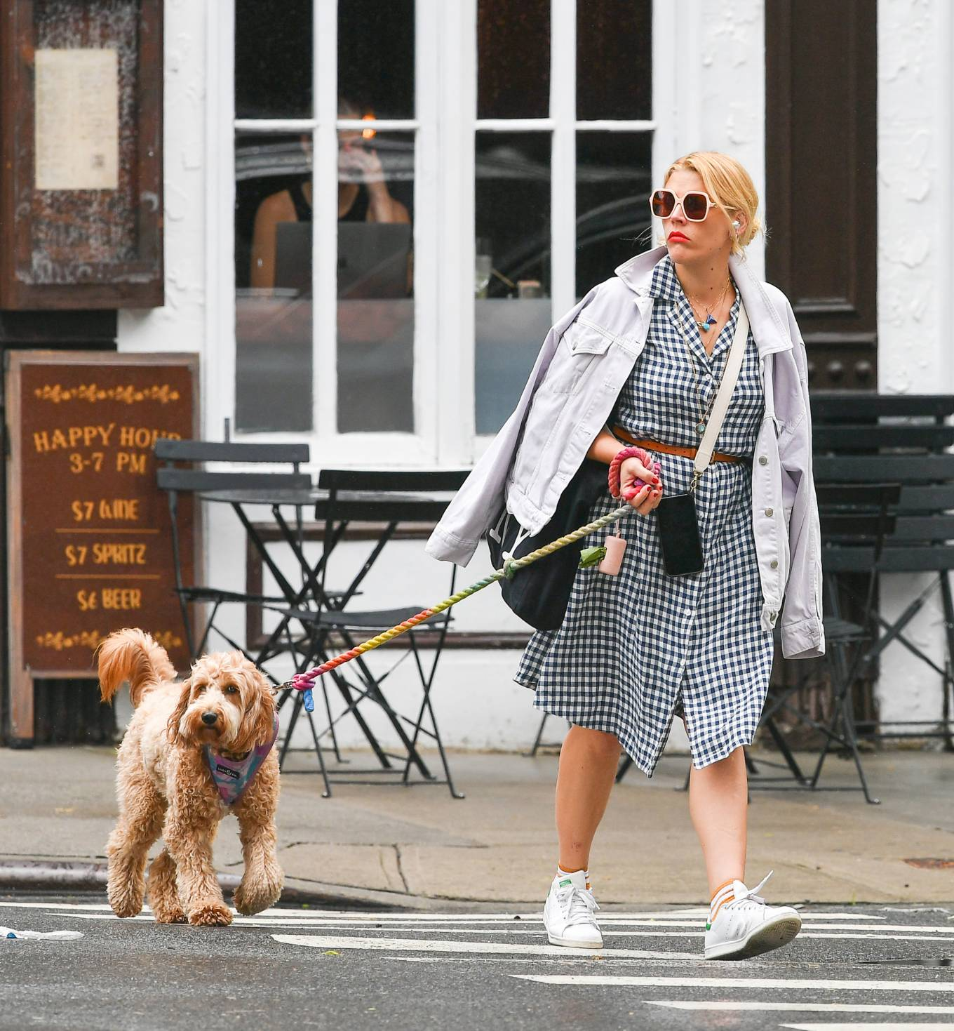 Busy Philipps 2021 : Busy Philipps – Steps out in New York-07