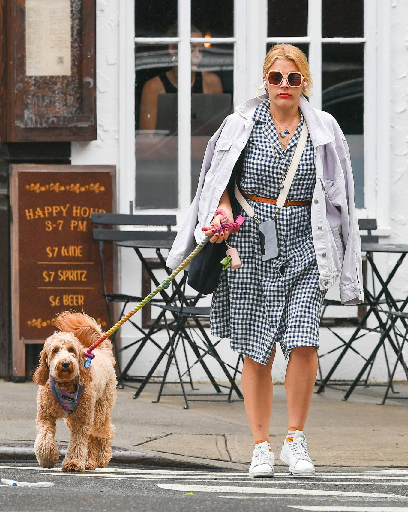 Busy Philipps 2021 : Busy Philipps – Steps out in New York-08