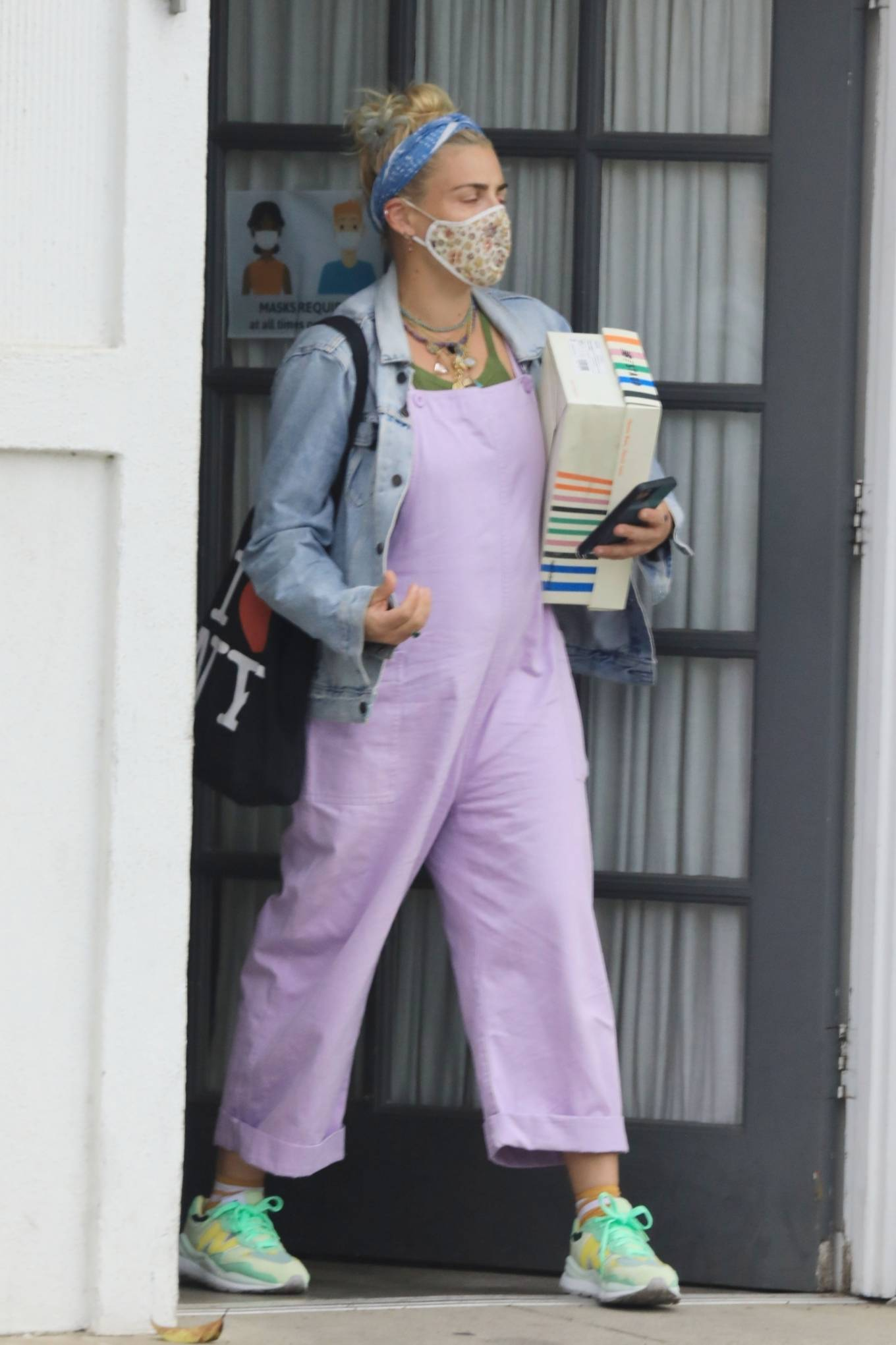 Busy Philipps - Stops by her stylist's office in Beverly Hills