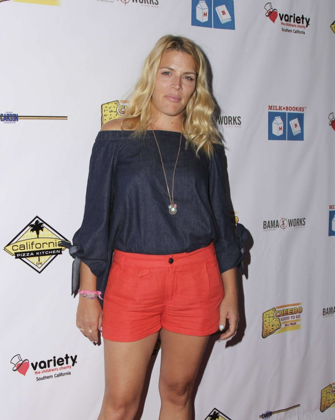 Busy Philipps - The 7th Annual Milk + Bookies Story Time Celebration in LA