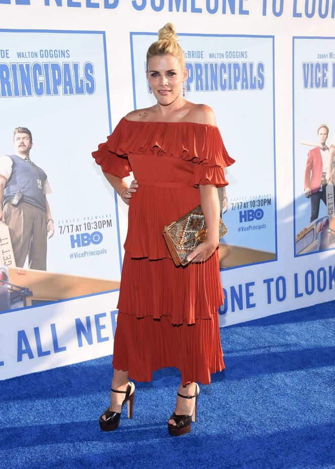 Busy Philipps - 'Vice Principals' Premiere in Los Angeles