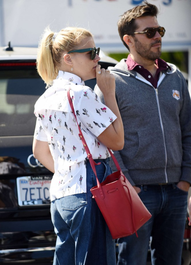 Busy Philipps with friends out in West Hollywood