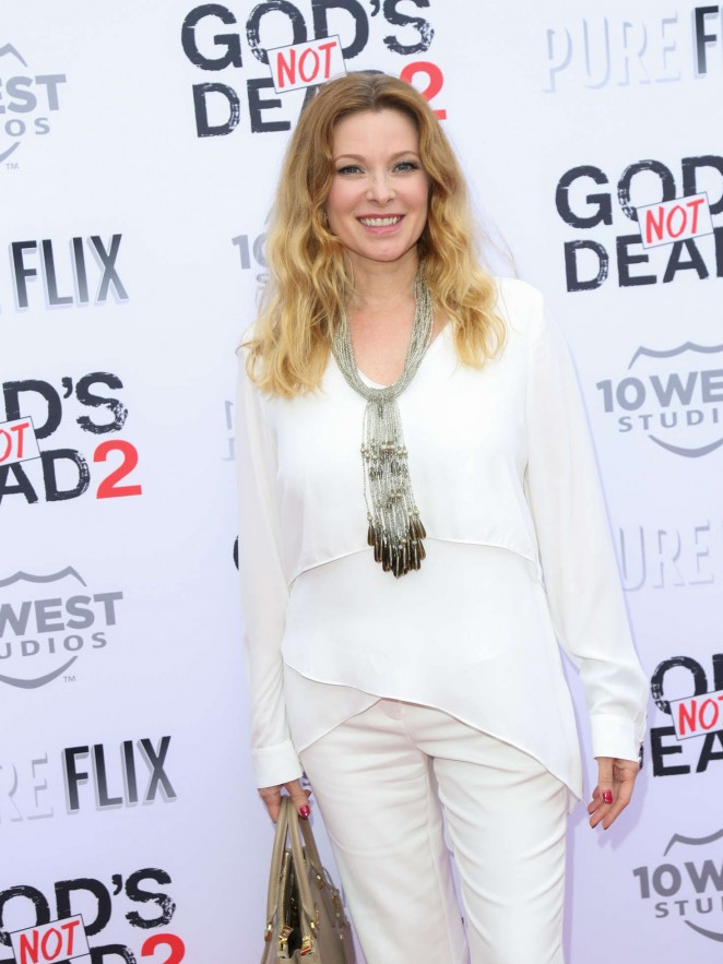 Cady McClain - 'God's Not Dead 2' Premiere in Los Angeles