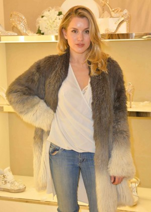 Caggie Dunlop Launch of Forte Organics in London