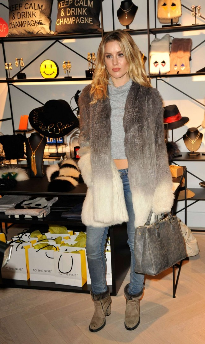 Caggie Dunlop - To The Nine Store Launch in London