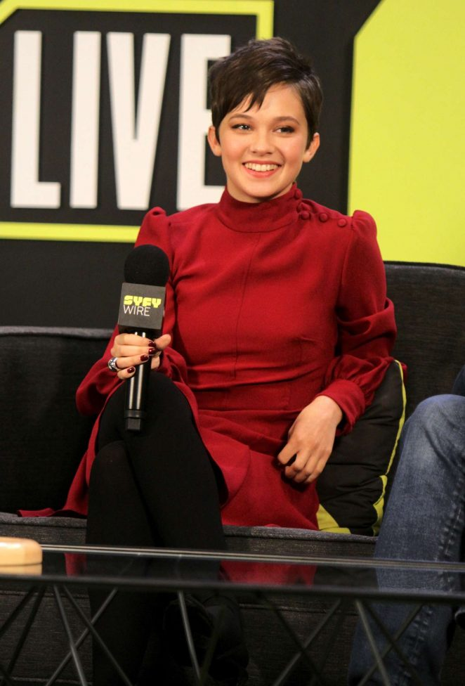Cailee Spaeny - 'Bad Times at the El Royale' Panel at 2018 New York Comic Con