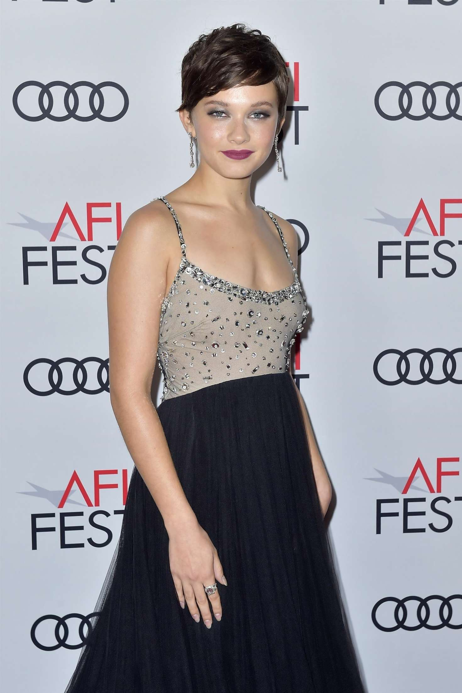Cailee Spaeny – 'On The Basis Of Sex' Premiere – 2018 AFI Fest In Los Angeles