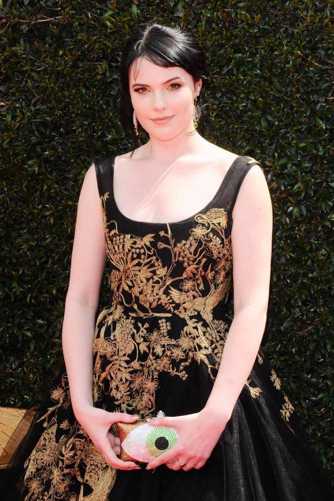 Cait Fairbanks - 2018 Daytime Emmy Awards in Pasadena