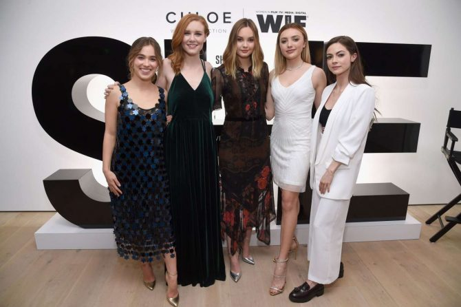 Caitlin Carver - Chloe Wine Collection Launches Its She Directed Campaign in Beverly Hills