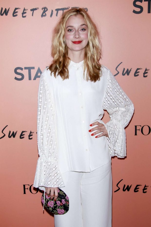Caitlin Fitzgerald - 'Sweetbitter' Season 2 Premiere in New York City