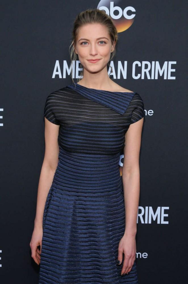 "Caitlin Gerrard - ""American Crime"" Premiere in LA"