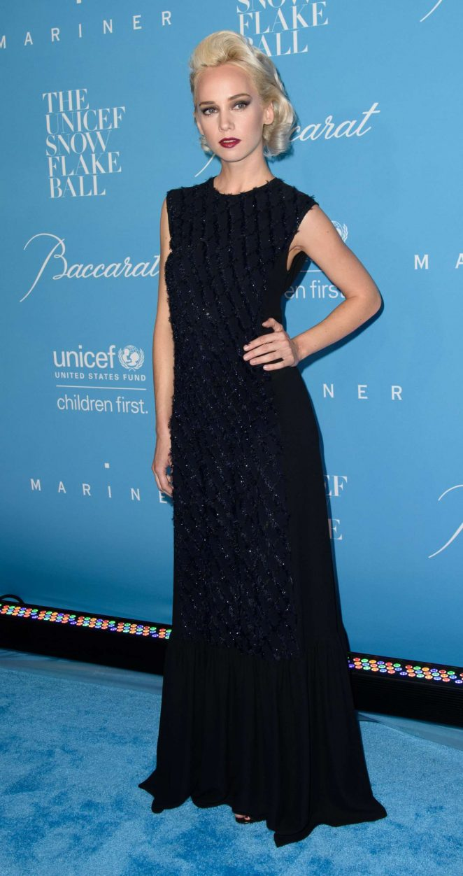 Caitlin Moe - 2016 UNICEF Snowflake Ball in New York