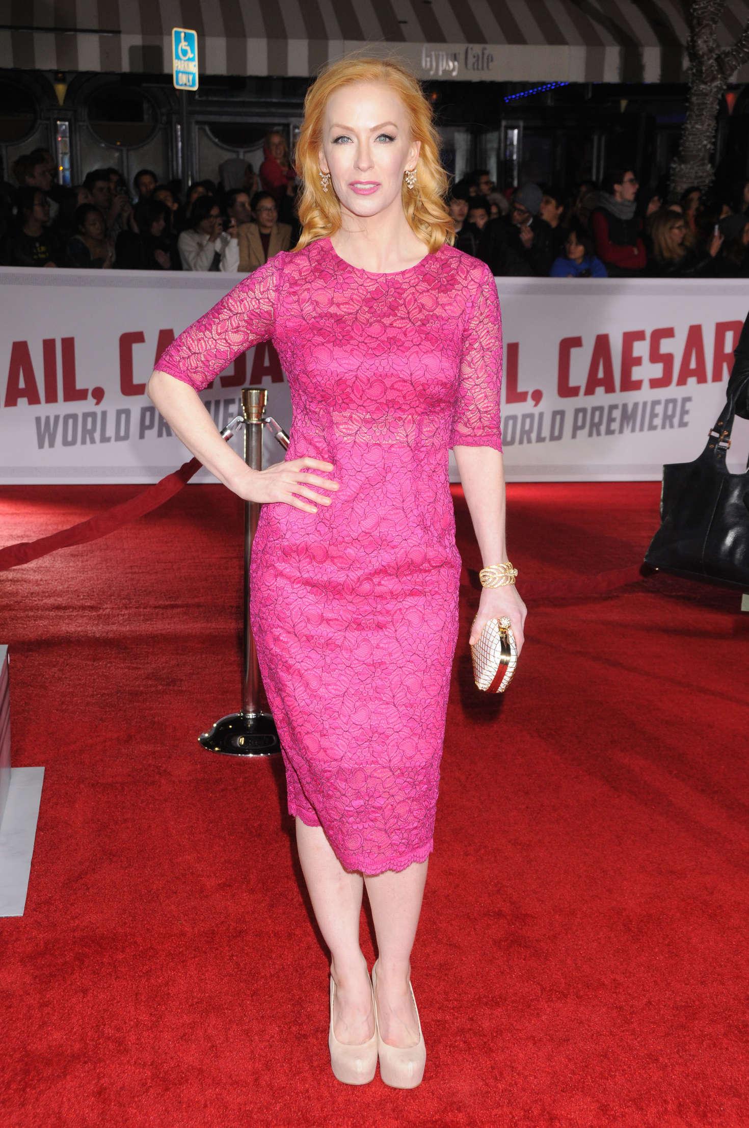 Caitlin Muelder - 'Hail, Caesar' Premiere in Westwood