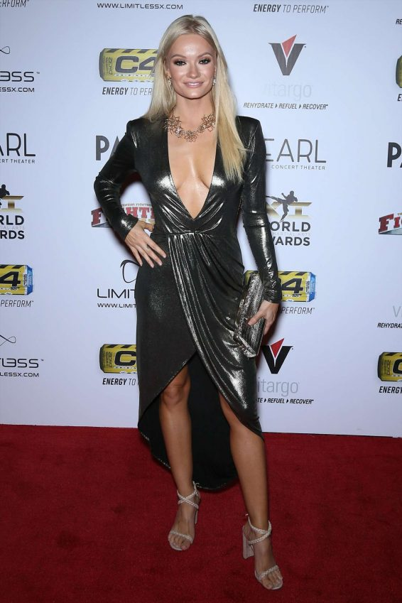 Caitlin O'Connor - 11th Annual World Mixed Martial Arts Awards in Las Vegas