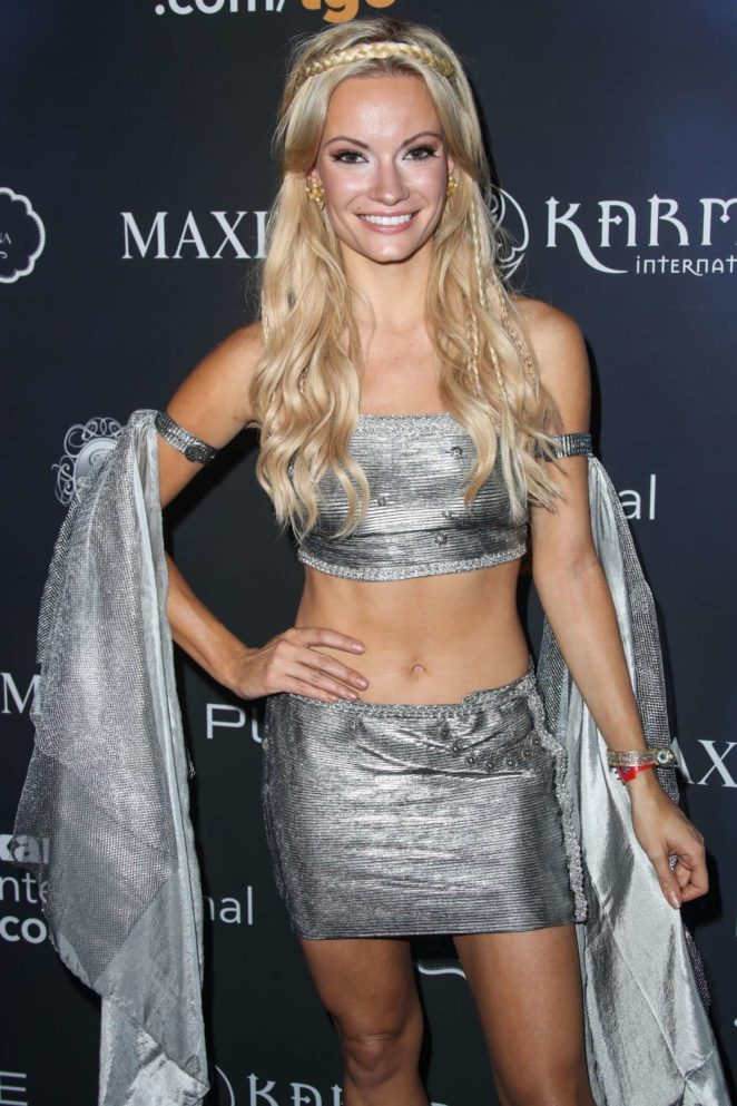 Caitlin O'Connor - 2017 Maxim Halloween Party in Los Angeles