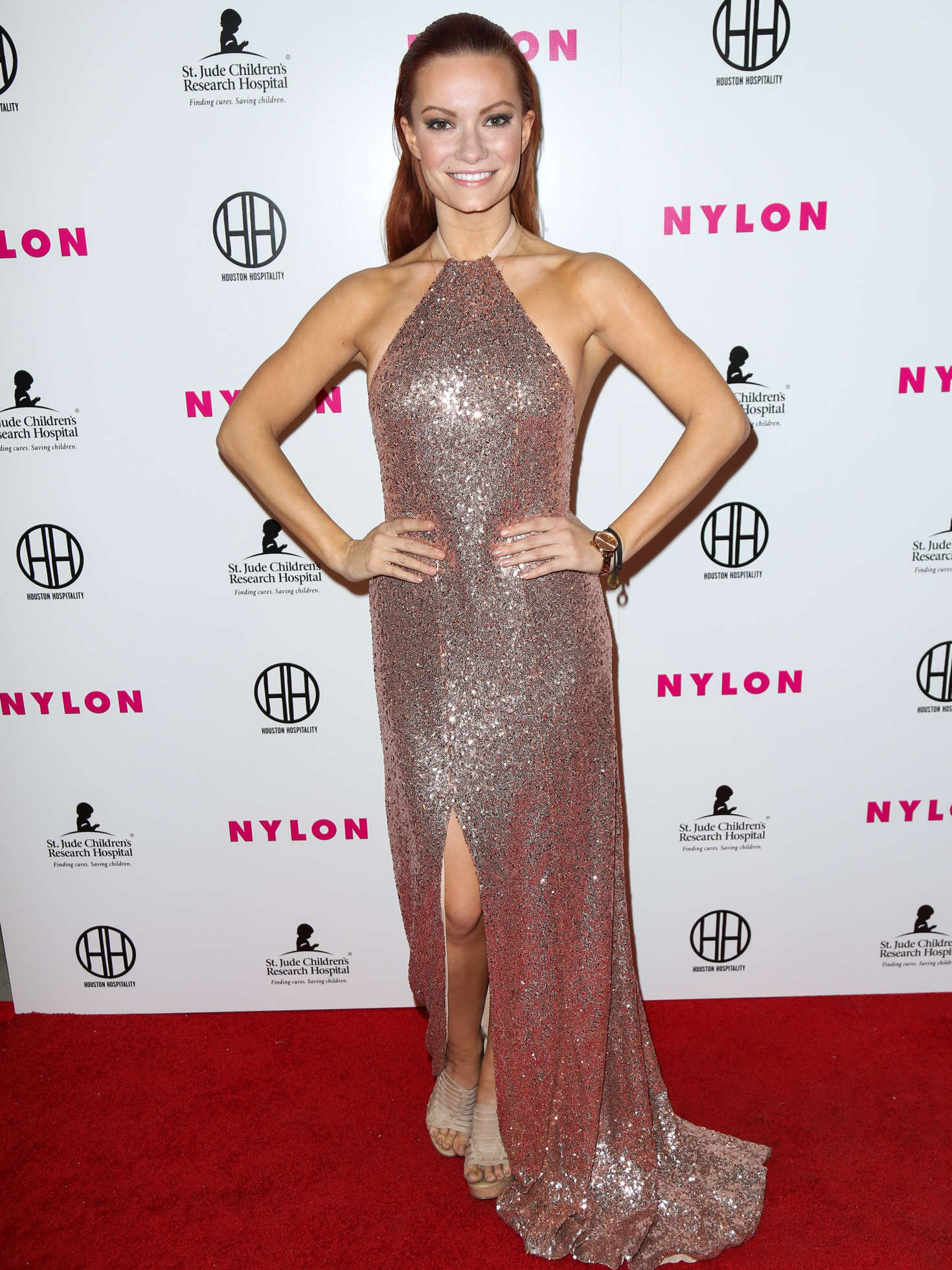 Caitlin O Connor - NYLON Magazine's Muses And Music Party in LA