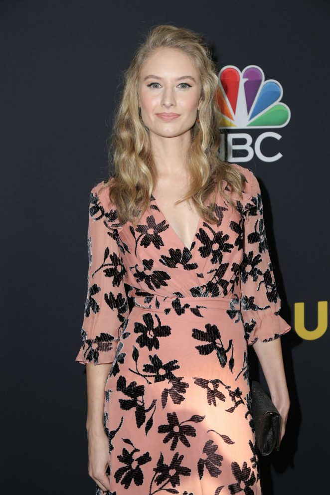 Caitlin Thompson - 'This Is Us' Season 3 Premiere in Los Angeles