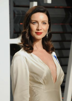 Caitriona Balfe - 2017 Vanity Fair Oscar Party in Hollywood