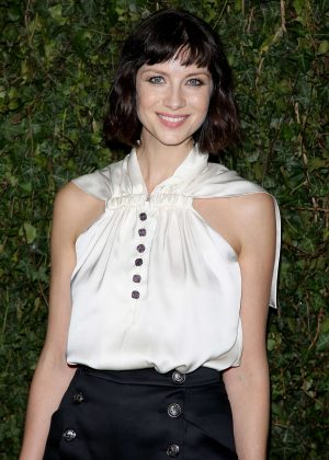 Caitriona Balfe - 2018 Charles Finch x Chanel Pre-Bafta Party in London