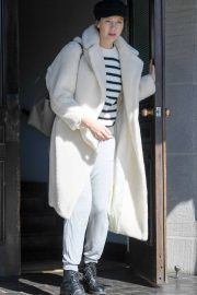 Caitriona Balfe and Tony McGill - Seen leaving a hotel in Los Angeles