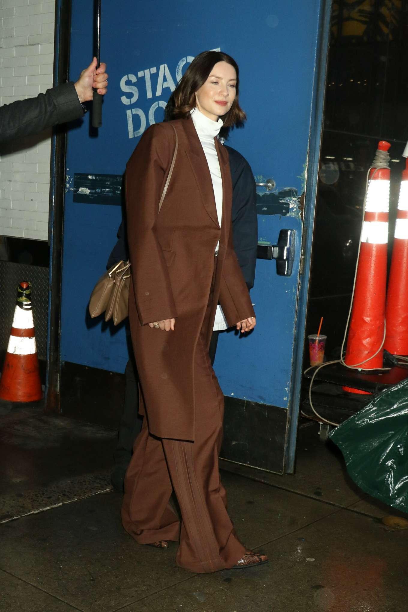 Caitriona Balfe 2020 : Caitriona Balfe are seen outside Good Morning America in New York-04