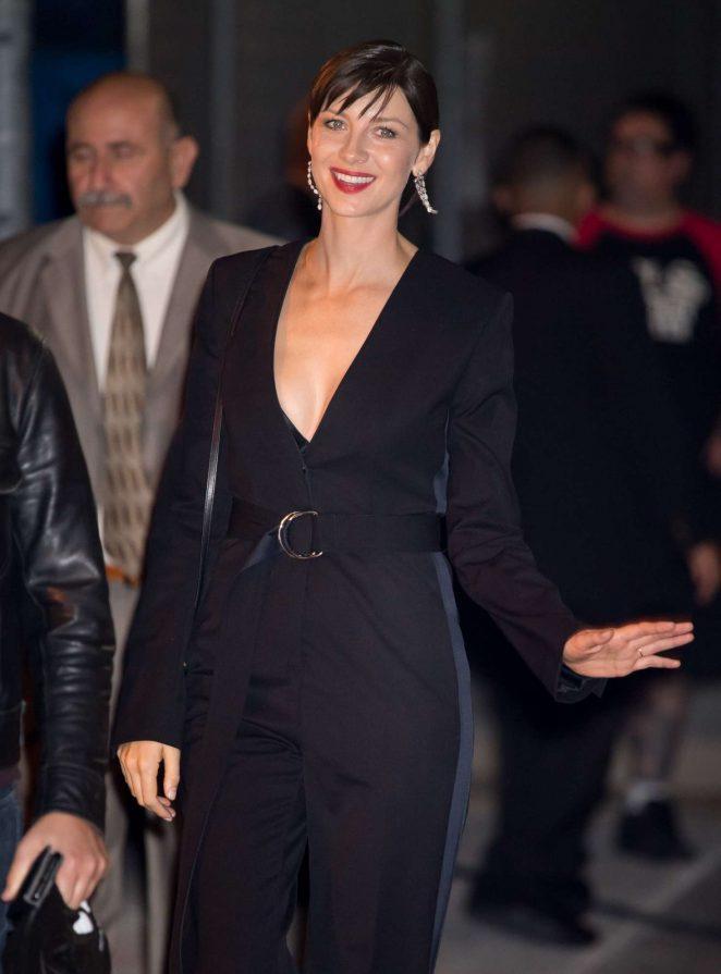 Caitriona Balfe - Arriving at the 'Jimmy Kimmel Live' in LA