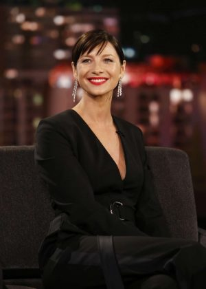 Caitriona Balfe at Jimmy Kimmel Live! in Los Angeles