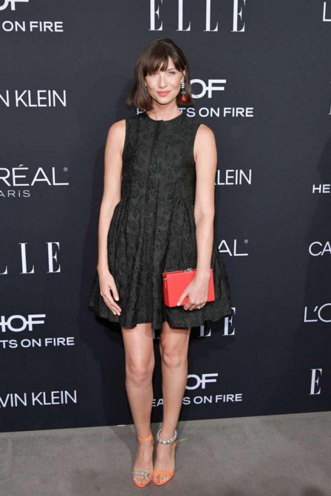 Caitriona Balfe - ELLE's 25th Women in Hollywood Celebration in LA