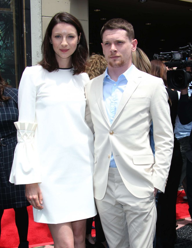 Caitriona Balfe - Jodie Foster's Walk Of Fame Ceremony in Hollywood