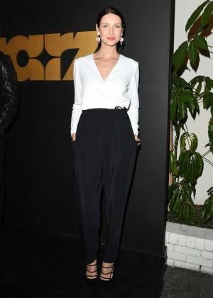 Caitriona Balfe - STARZ Pre-Golden Globe Celebration in LA
