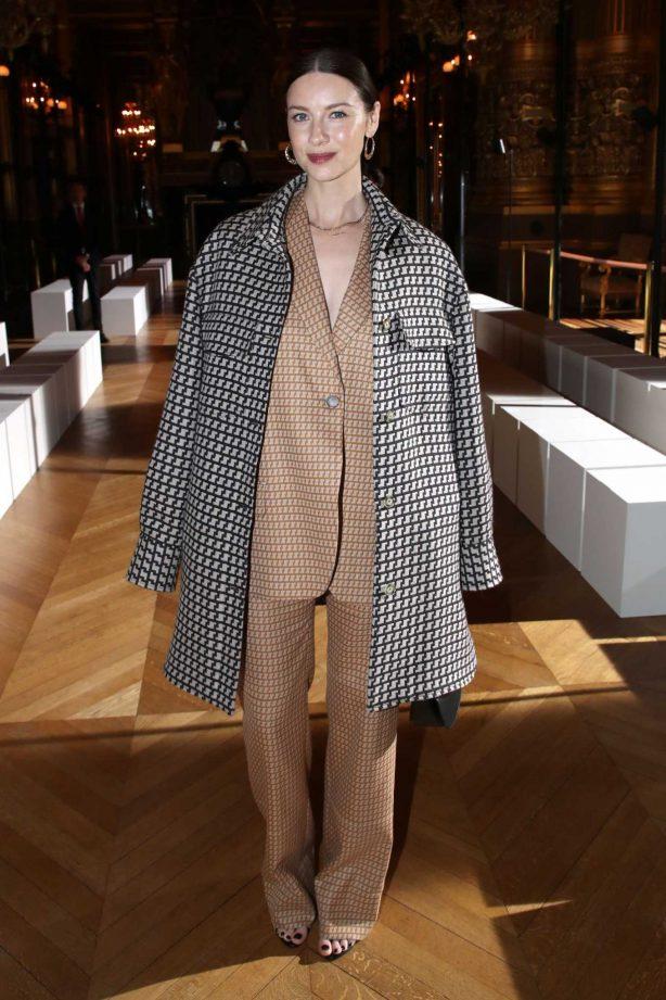 Caitriona Balfe - Stella McCartney Show at Paris Fashion Week 2020