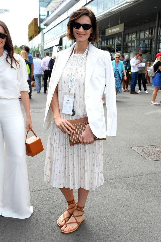 Caitriona Balfe - Wimbledon Tennis Championships 2019 in London
