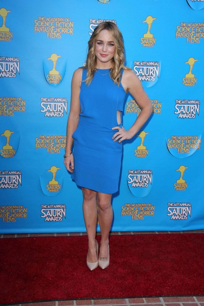 Caity Lotz - 2015 Saturn Awards in Burbank
