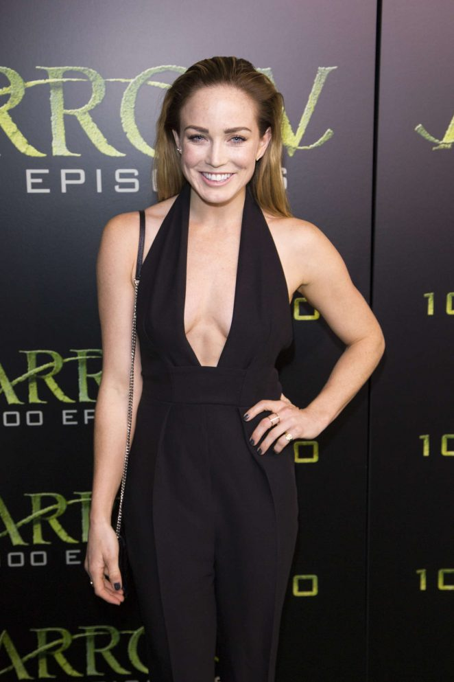 Caity Lotz - Celebration Of 100th Episode Of CW's 'Arrow' in Vancouver