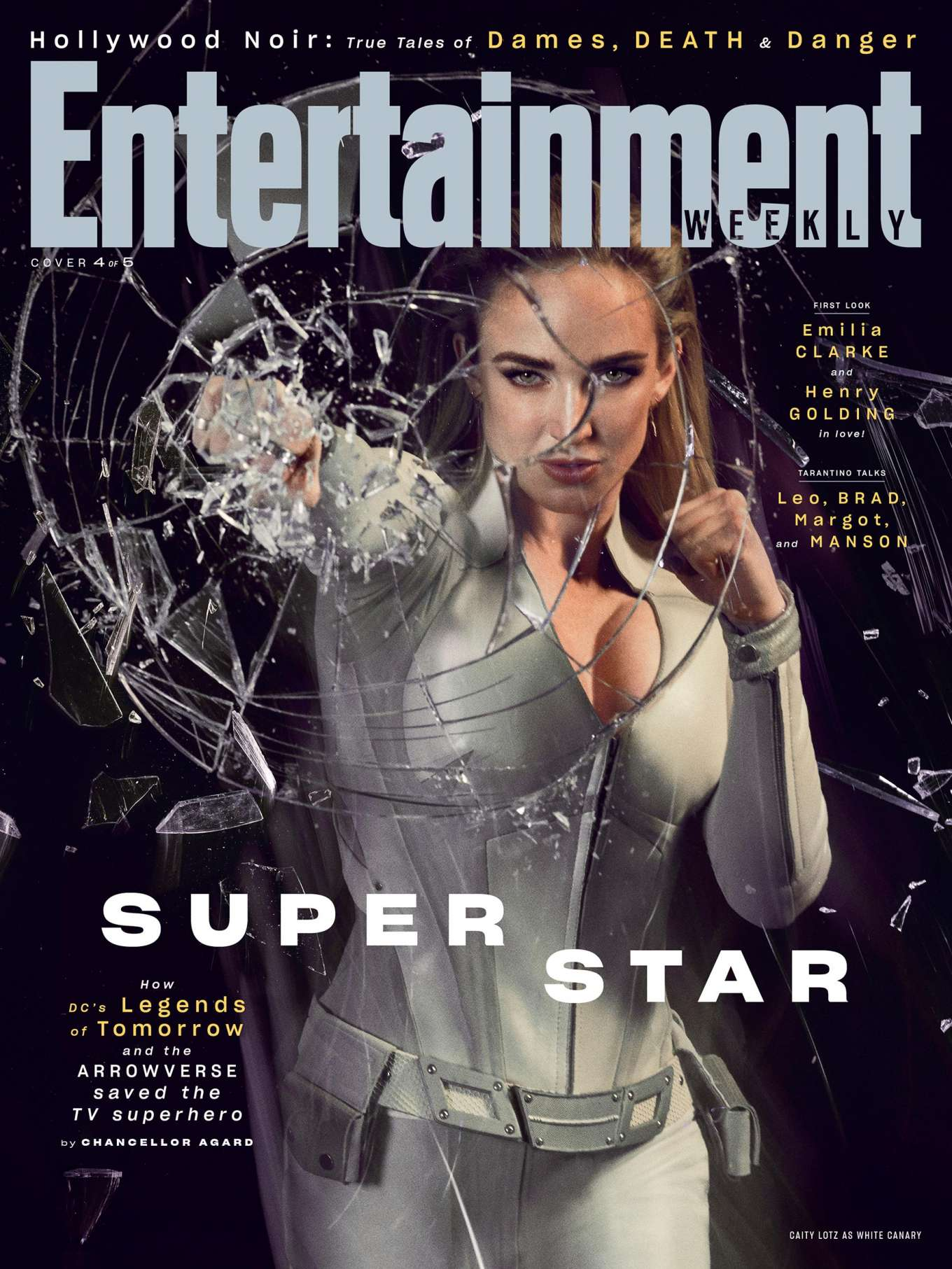 Caity Lotz for Entertainment Weekly (August 2019)