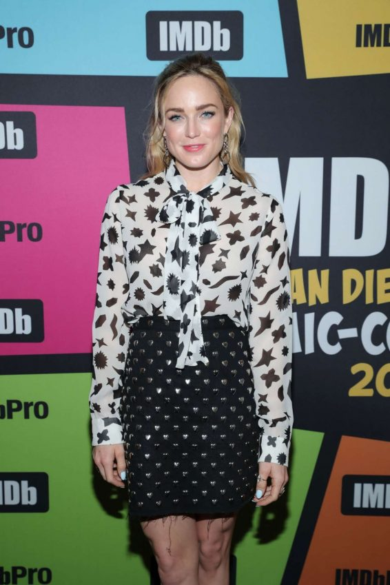 Caity Lotz - #IMDboat at Comic Con San Diego 2019
