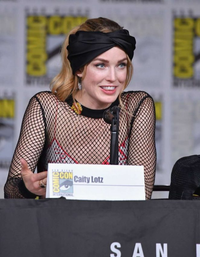 Caity Lotz - 'Legends Of Tomorrow' Panel at 2018 Comic-Con in San Diego