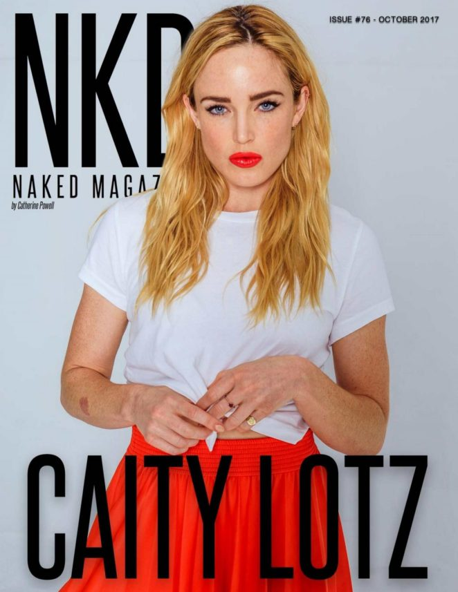 Caity Lotz - NKD Magazine (October 2017)