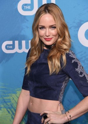 Caity Lotz - The CW Upfront Presentation 2016 in New York