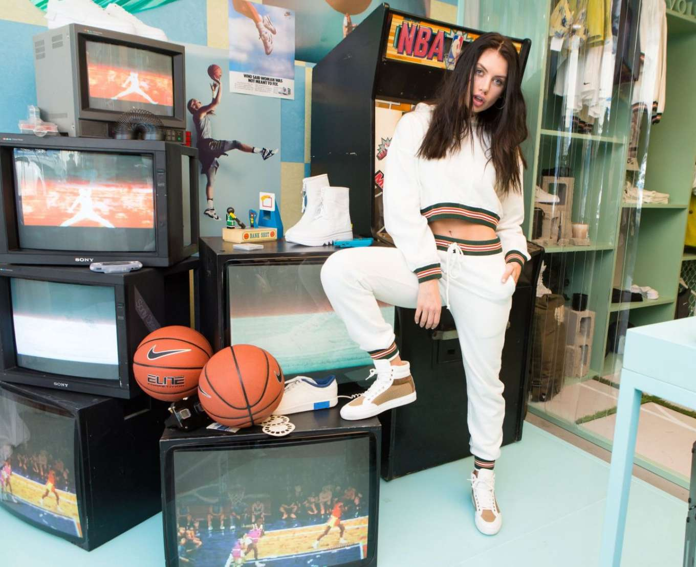 Caley-Rae Pavillard - Revolve x Nike 'The 1s Reimagined' Party in LA