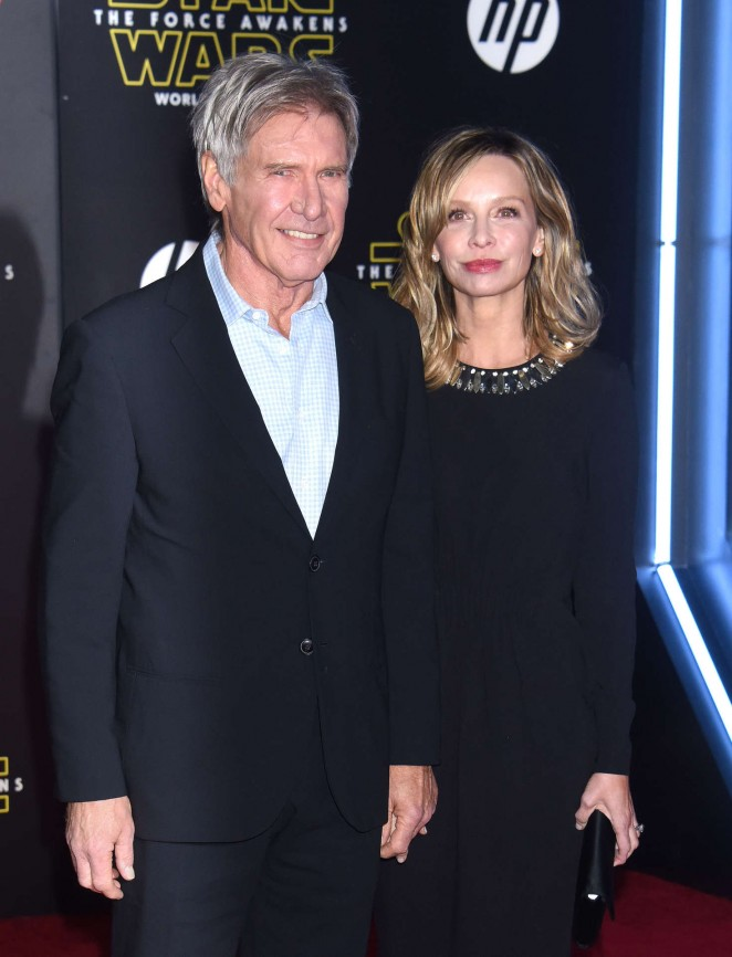 Calista Flockhart - 'Star Wars: The Force Awakens' Premiere in Hollywood