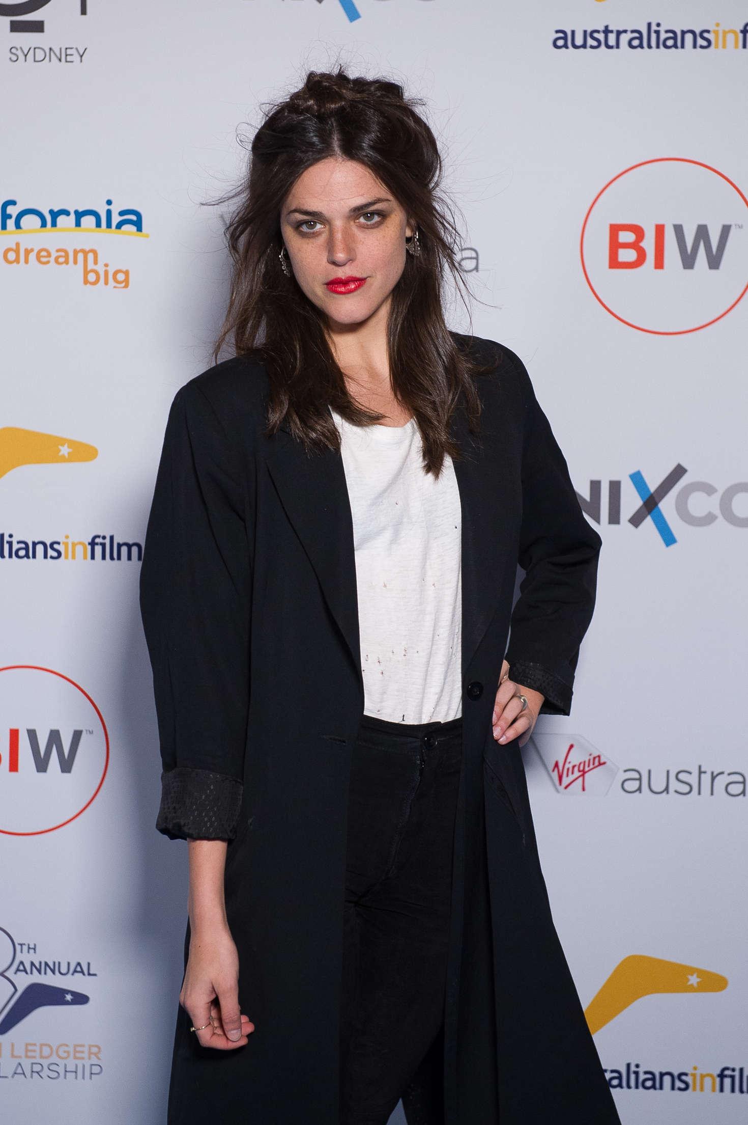 Callie Hernandez - AiF Heath Ledger Scholarship 2016 Announced in Sydney