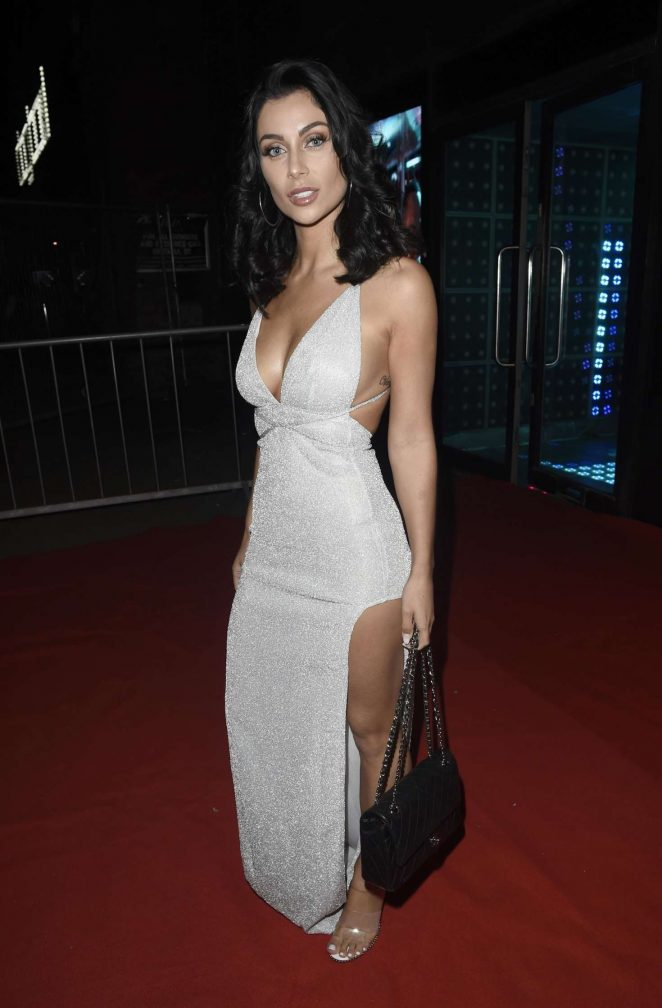 Cally Jane Beech - Arrives at The Miss Swimsuit Final in Manchester