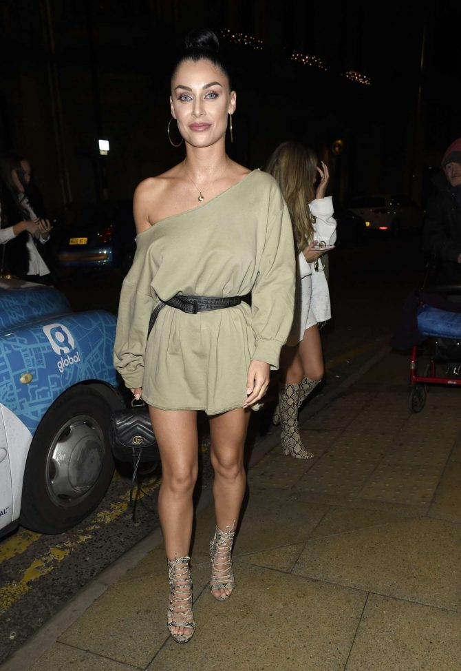 Cally Jane Beech at Rosso Restaurant in Manchester
