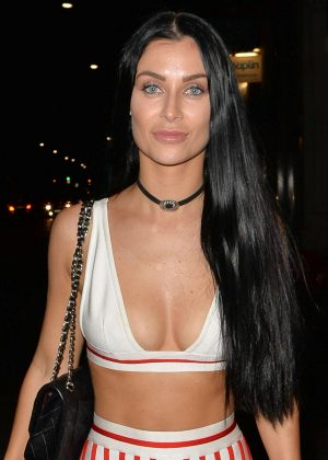 Cally Jane Beech - Night out at Libertine in London