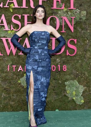 Calu Rivero - Green Carpet Fashion Awards 2018 in Milan