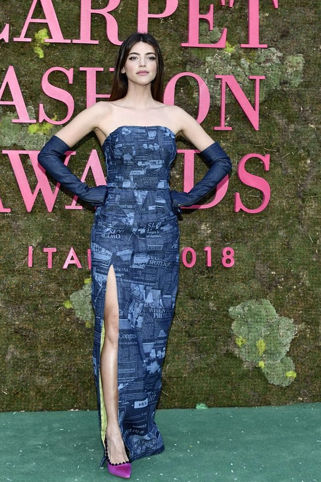 Calu Rivero – Green Carpet Fashion Awards 2018 in Milan