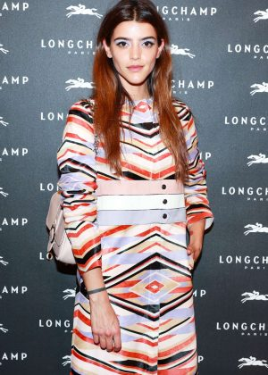 Calu Rivero - Longchamp Fifth Avenue Store Opening in NY